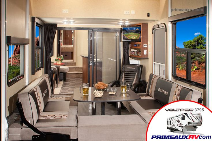 19 best ideas about luxury 5th wheels on pinterest open range dutchmen rv and heartland rv - Garage for rv model ...
