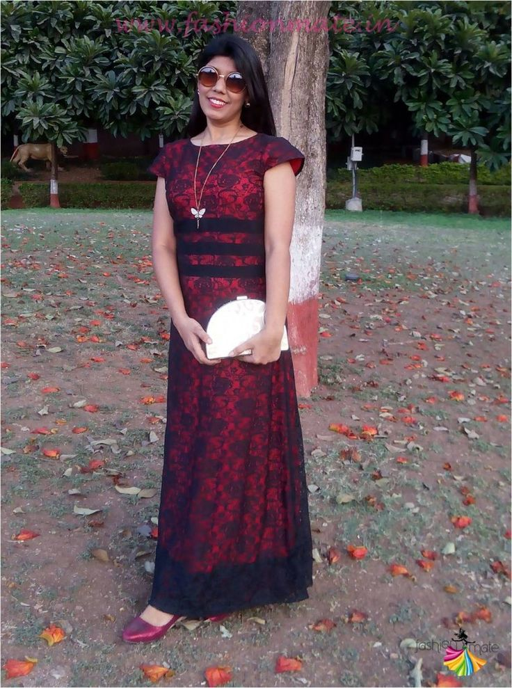 Celebrating late Valentine with Princess of faraway land - OOTD Lace Gown!