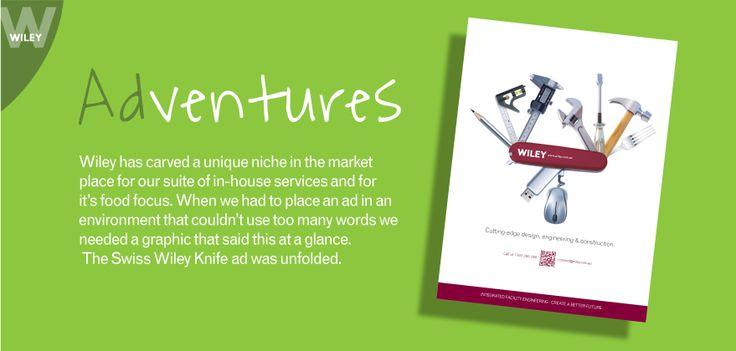 Swiss Army Knife ADventure #wiley