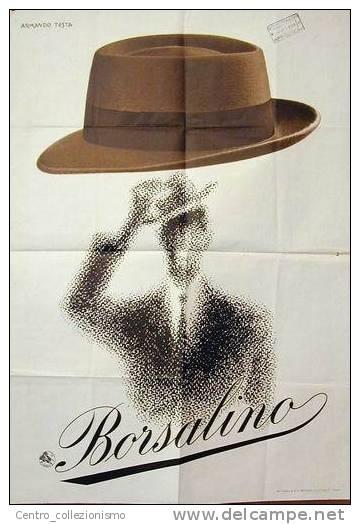 Armando Testa | Campaign for the Hat Brand Borsalino - 1958