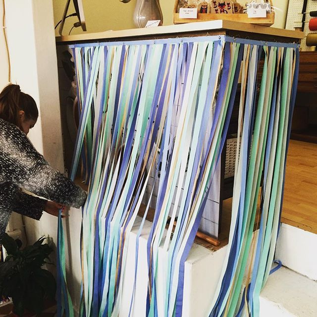 Pampering the shop ;) #tidyonlong #newdesign #ribbons #cut #tidyandco #longstreet #capetown