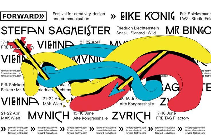 Forward-Festival München: Wer wie wir an Design, Kreativität, Kommunikation und Kunst interessiert ist, persönliche Insights und Erfolgsgeschichten von großen Speakern liebt und Impulse aus Konferenzen für seine eige…