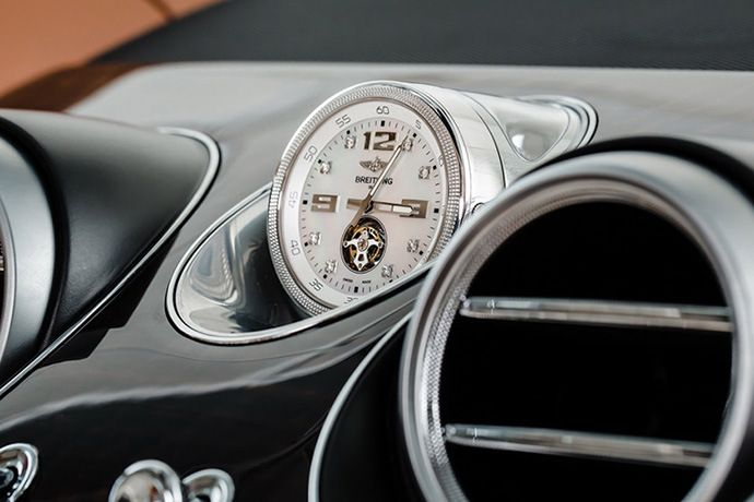 Add a Mulliner Tourbillon Mechanical Clock to Your Bentley for Just $234,360 USD which is worth more than the car itself which retails for $229,100 USD