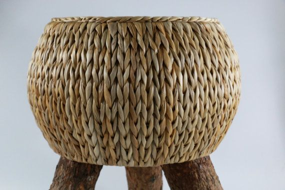Rustic wood stool/kid's gift/Wooden chair/kea style/muji