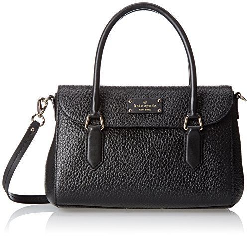 Women's Cross-Body Handbags - kate spade new york Grove Court Small Leslie Top Handle BagBlackOne Size -- Find out more about the great product at the image link.