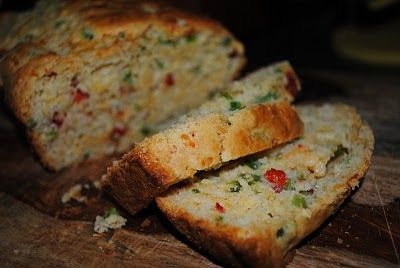 Jalepeno Cheddar Bread - moist, lots of spice, and is very quick to make.