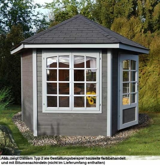 die besten 25 blockbohlen gartenhaus ideen auf pinterest. Black Bedroom Furniture Sets. Home Design Ideas