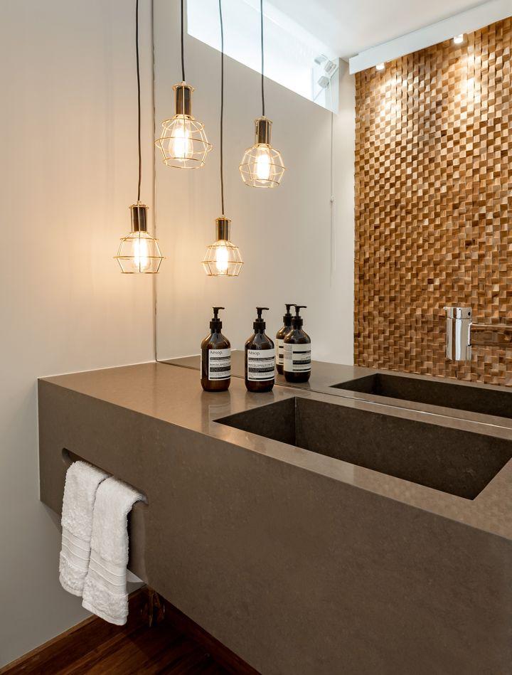 die besten 25 pendente para banheiro ideen auf pinterest g ste wc hausbesichtigungen und. Black Bedroom Furniture Sets. Home Design Ideas