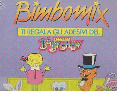 Le compilation Bimbomix dell'etichetta Baby Records. Con Baby e Cin Ciao Lin! C'erano anche i cartoni animati del Baby Show :D