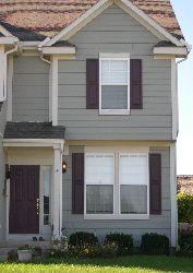 exterior shutter colors on pinterest shutter colors house shutter. Black Bedroom Furniture Sets. Home Design Ideas