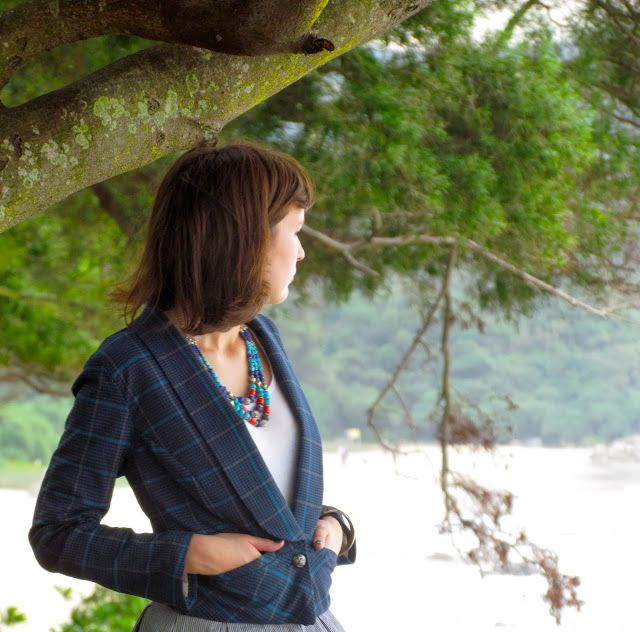 Let's tweed again: Bellatrix Blazer