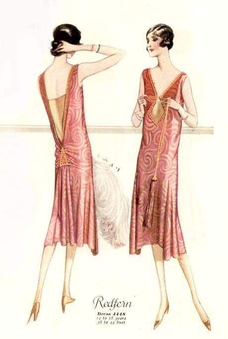 Мода 1920-х годов: в журналах и в жизни - Ярмарка Мастеров - ручная работа, handmade