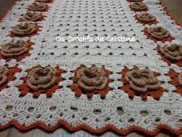 Resultado de imagem para caminhos de mesa em croche com graficos