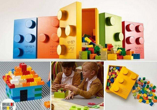 #BrailleBricks : Les petits legos pour apprendre le braille