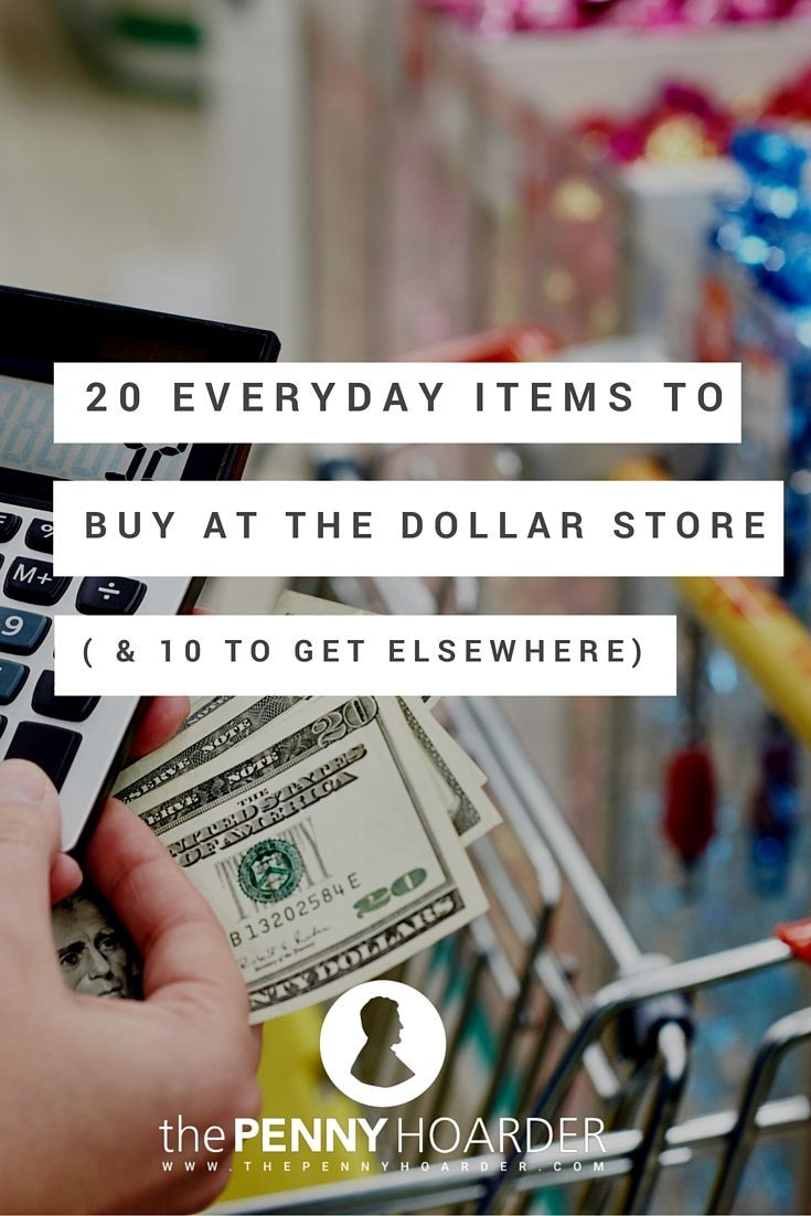 I looked at what the experts say in interviews with MoneyTalksNews and Today. Based on their advice and my own experience, here are 20 things to buy at dollar stores and 10 things to avoid. - The Penny Hoarder http://www.thepennyhoarder.com/what-to-buy-at-the-dollar-store/
