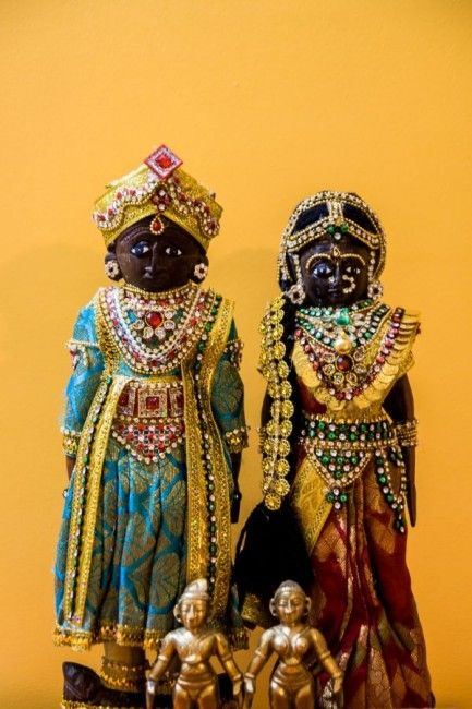 The Marapachi dolls always got a grand dress up during Dasara.