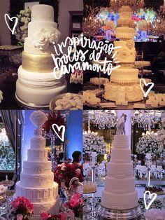 Blog OMG - I'm Engaged! Bolos de casamento, da ICWeek do Paraná. Wedding cakes.
