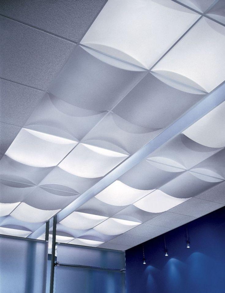 Flexible Drop Ceiling Tiles