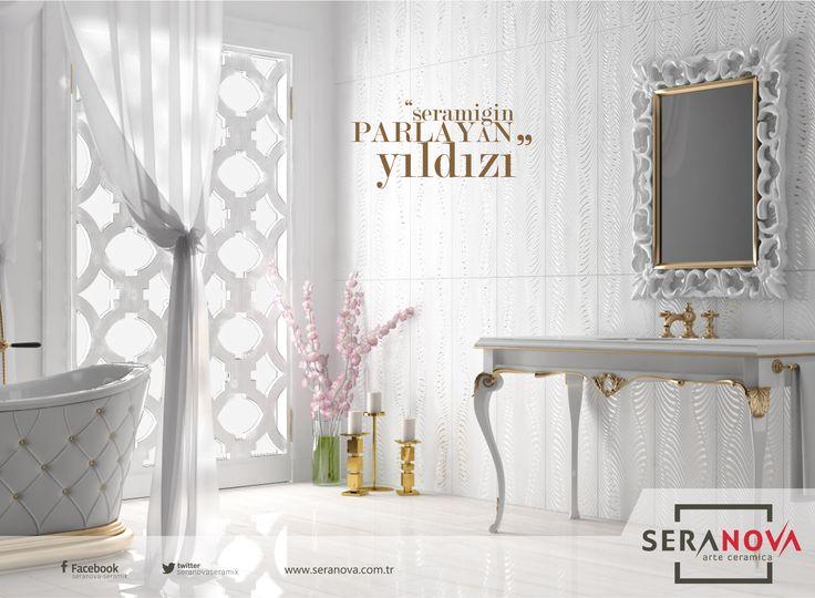 Banyonuzu evin en havalı yeri haline getirmek için sizi en yakın Seranova bayisine bekleriz. #seranova #seramik #banyo #ev dekorasyonu #dekorasyon #proje #sırlıporselen #porselen #bathroom #bathroomdecor #dekor #decoration #model #decor #pattern #version #type #sample #designer #interiordesign #homedecorations #riyadh #qatarfurniture #doha #dubaidesigner #homedesigns #majlis #projects #mobilya #bes #turkish #index #armchair #chair #abuja #trend #