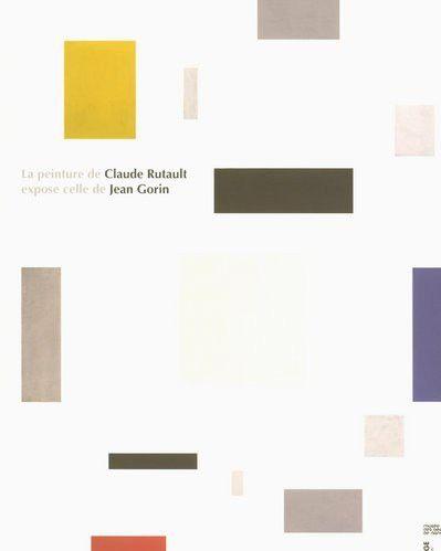 Claude Rutault // La peinture de Claude Rutault expose celle de Jean Gorin