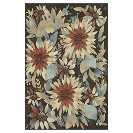 Anchor your living room seating group or define a space in your master suite with this eye-catching rug, showcasing a multicolor floral motif.   Product: RugConstruction Material: PolypropyleneColor: MultiFeatures:  Suitable for indoor and outdoor use  Power-loomed Made in Egypt  Note: Please be aware that actual colors may vary from those shown on your screen. Accent rugs may also not show the entire pattern that the corresponding area rugs have.Cleaning and Care: Clean spills immediately…