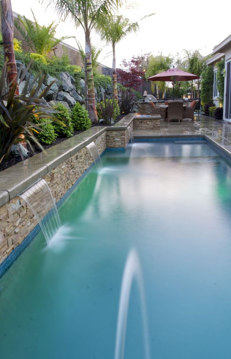Gorgeous 57 Fabulous Small Swimming Pool Ideas https://homeylife.com/57-fabulous-small-swimming-pool-ideas/