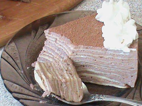 Блинный торт. Диета Дюкана - YouTube