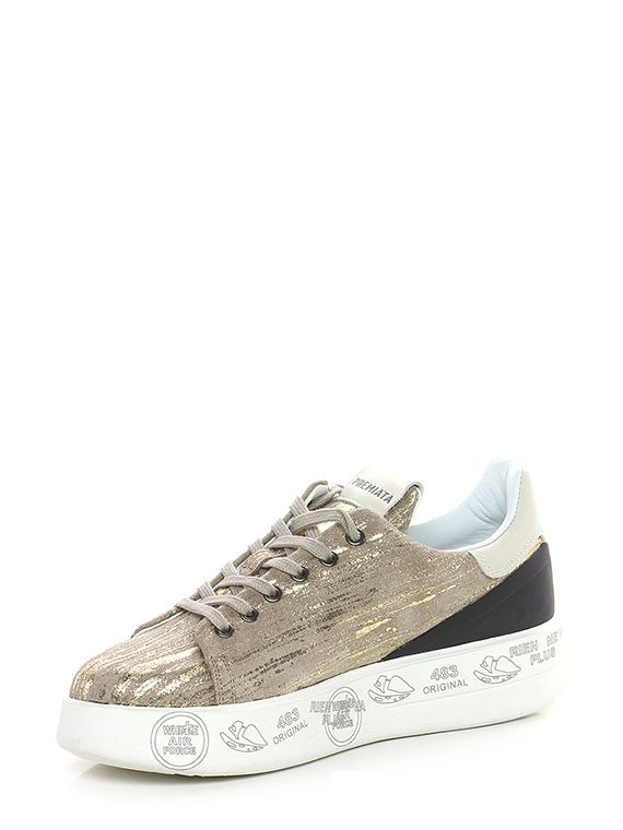4a9c49493 Sneaker 3713 taupe/gold Premiata in 2019 | 패션 | 패션