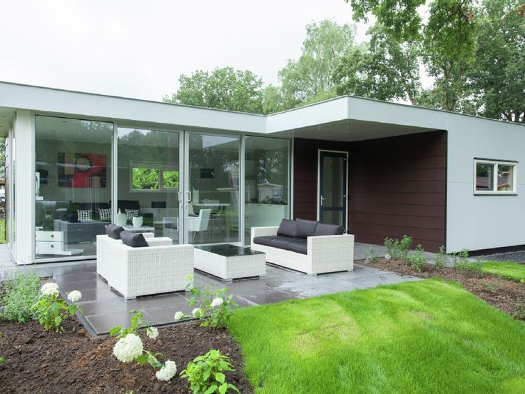 hommelheide: detached modern bungalow in a park with many, Attraktive mobel