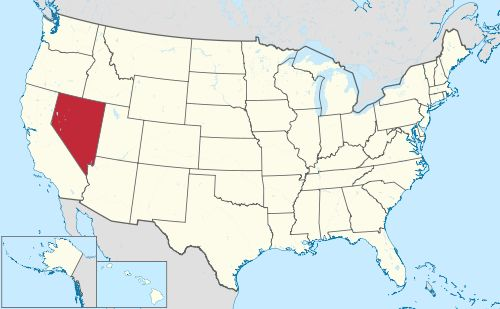 Nevada is northwest of Arizona, and west of Utah, and northeast of California, and south of Idaho and Oregon.