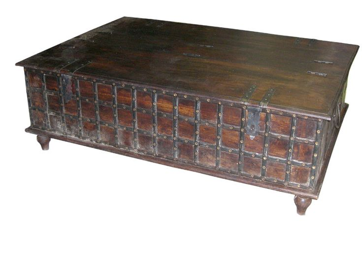 San Diego Trunk, Trunks, Wooden Chest, Wood Trunk, Antique Trunk