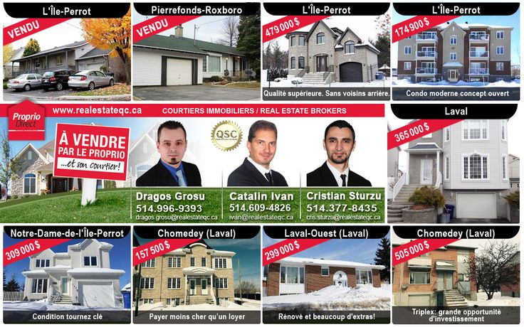 Realestateqc.ca Team from Proprio Direct www.realEstateQc.ca