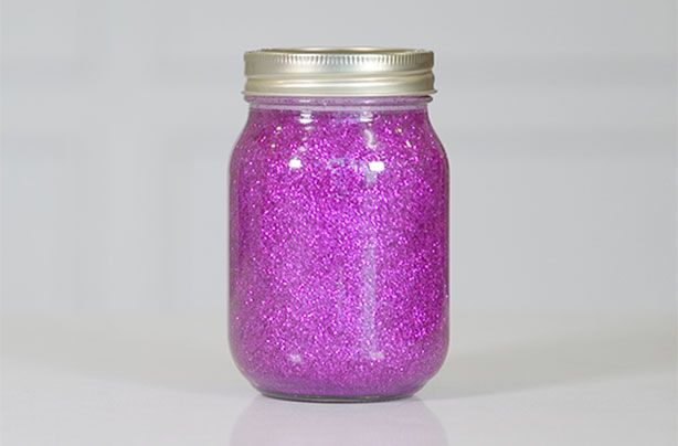 Glitter jars: How to make your own calm down jar or bottle