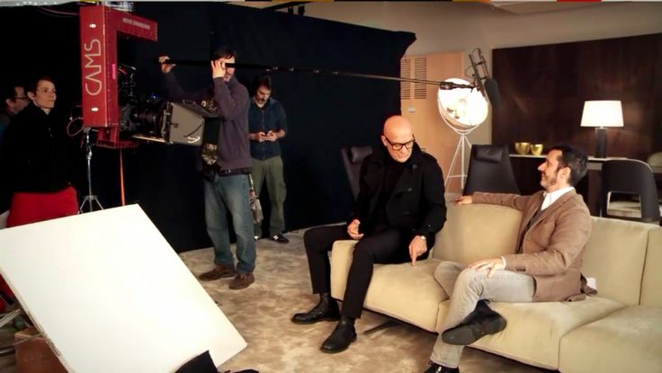 During TV shooting - backstage