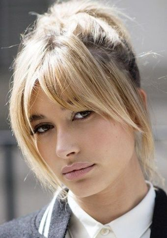 Super hair cuts lob bangs blondes ideas