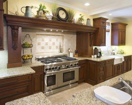 50 best House: Kitchen Decor Hood Mantel images on Pinterest ...