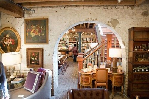 24 Hours in Savannah with Cheryl Day • The Paris Market: Visual eye candy and heavenly treasures fill every nook and cranny of this two-story boutique.  You might find something new or something old, but always something you can't live without. There is also a lovely little café where you can enjoy a treat and catch up with friends.