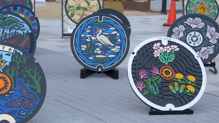 Go Behind the Scenes at a Japanese Manhole Factory Where Neighborhoods Create Their Own Designs