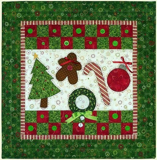 16 best christmas quilts images on Pinterest | Quilt patterns ... : christmas quilt projects small - Adamdwight.com