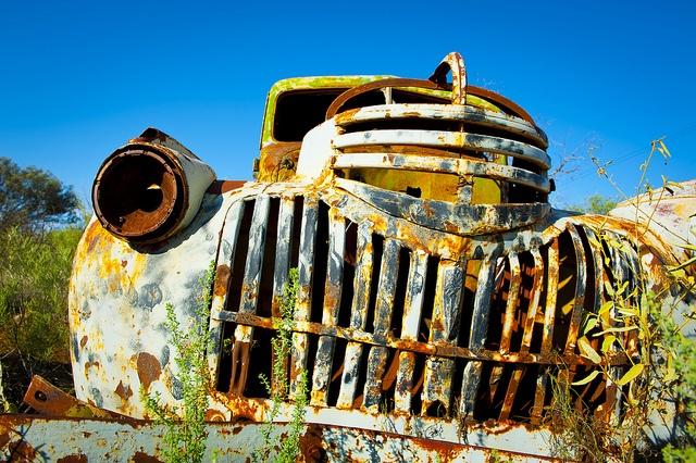 Old Car Broken Hill by Jeremy Buckingham MLC, via Flickr