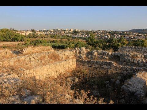 Arqueologia Biblica, Nos Passos de Sansão - Tel Beit Shemesh - YouTube