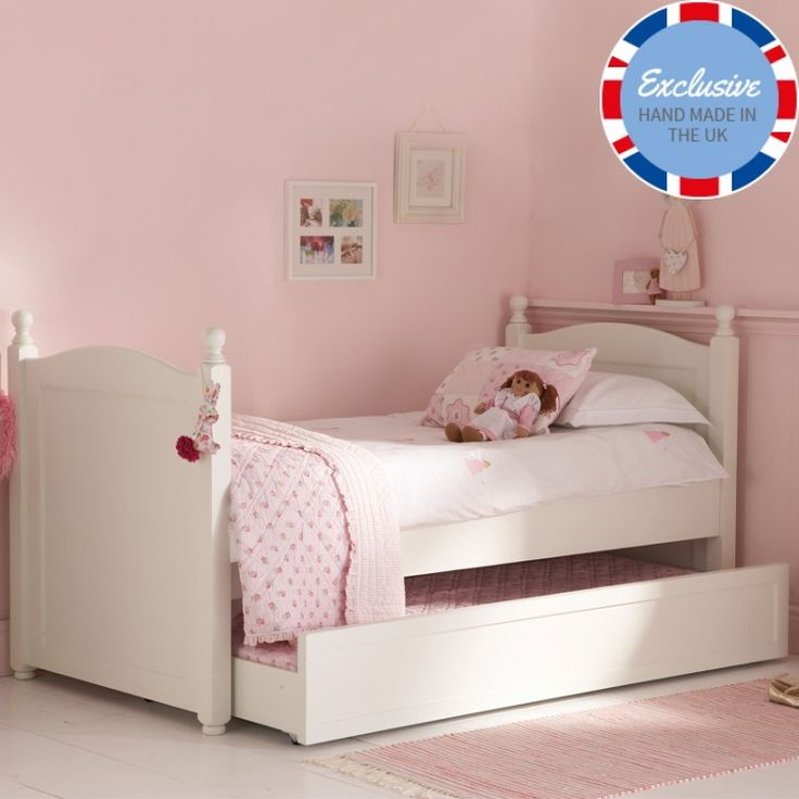 bedroom furniture for girls. white truckle bed childrens bedschildrens bedroom furnituregirl furniture for girls