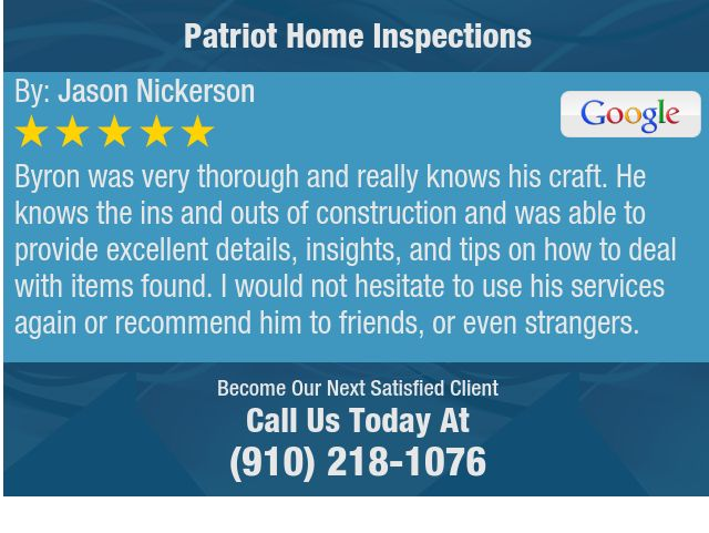 Byron was very thorough and really knows his craft. He knows the ins and outs of...