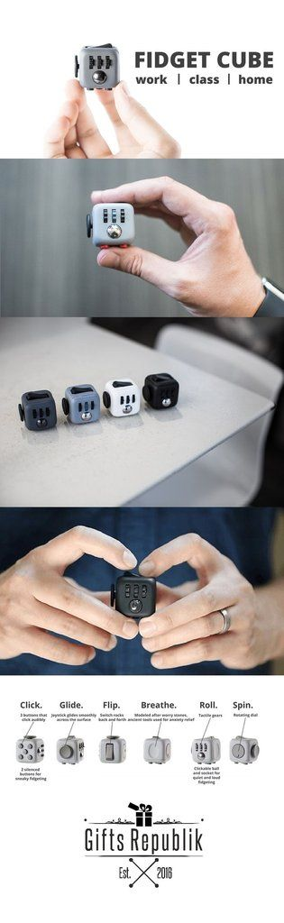 Anti Stress Fidget Cube. I never realized how incomplete my life has been so far.. I NEED this.