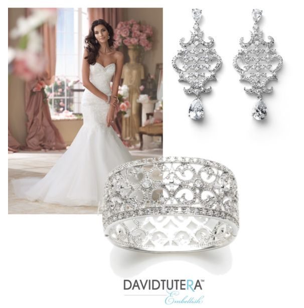 34 best images about sparkle shine on pinterest bridal for David tutera wedding jewelry collection