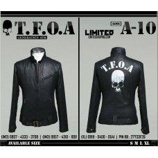 Jaket Kulit Crows Zero TFOA Generation 6th#edisi terbaru#harga terjangkau#keren#pin BB:21320945