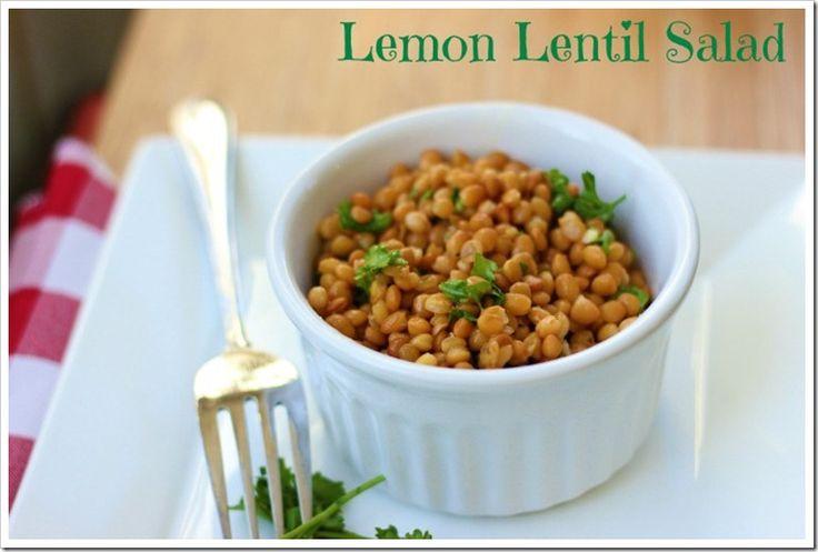 Lemon Lentil Salad