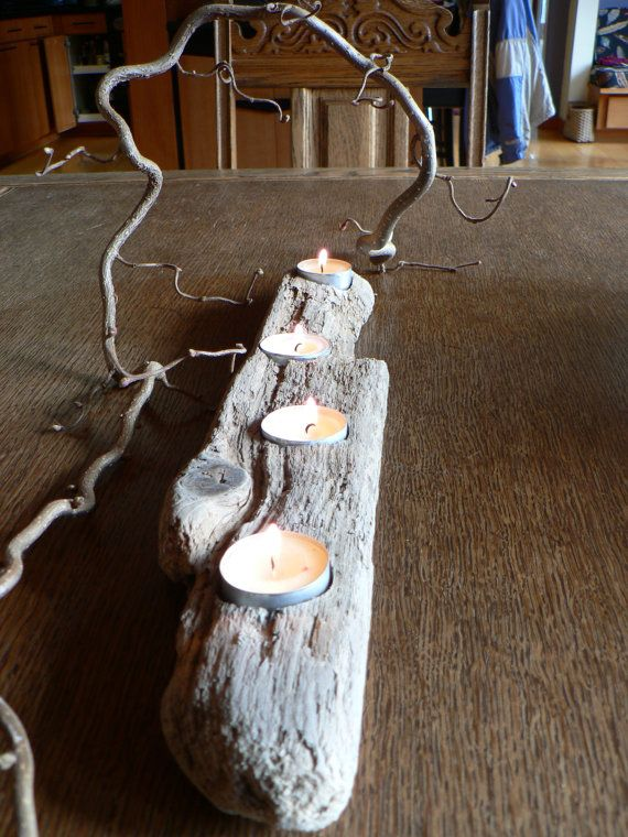 Zen Retreat deco Driftwood center piece by FlotsamJetsamCrafts