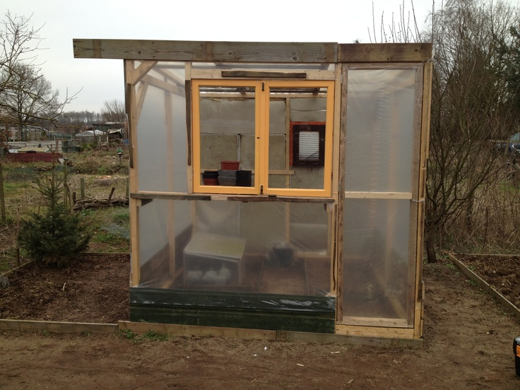 Almost done diy greenhouse.