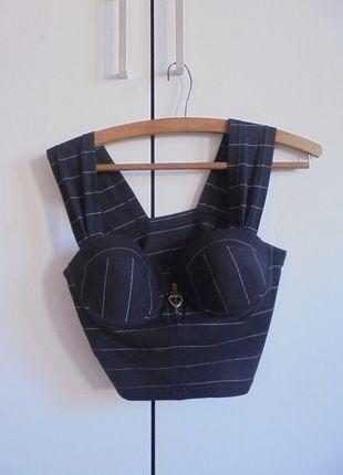Kup mój przedmiot na #vintedpl http://www.vinted.pl/damska-odziez/inne-ubrania/9941776-oryginalny-bralet-w-paski-na-grubych-ramiaczkach